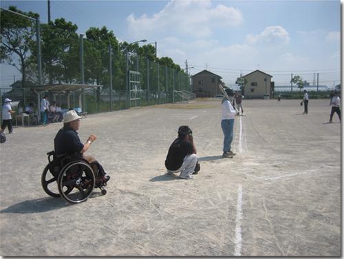ソフトボール交流大会写真